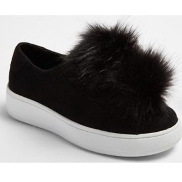 Stevies Shoes | Pom Pom Sneakers | Poshmark